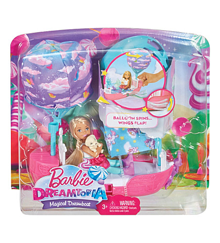 BARBIE Chelsea's Dreamtopia Vehicle playset
