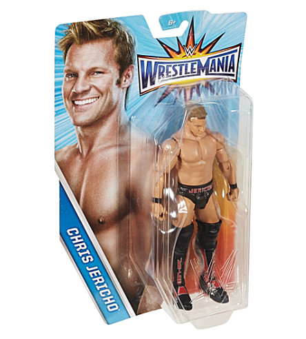 WWE Wrestlemania Chris Jericho action figure