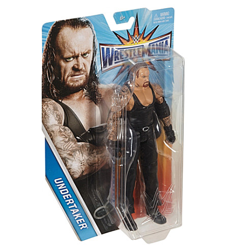 WWE Wrestlemania The Undertaker action figure