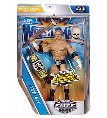 WWE WrestleMania Elite Triple H action figure