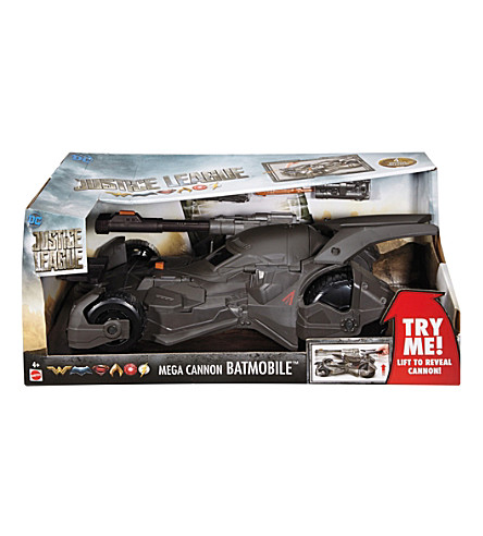 BATMAN Justice League Mega-Cannon Batmobile