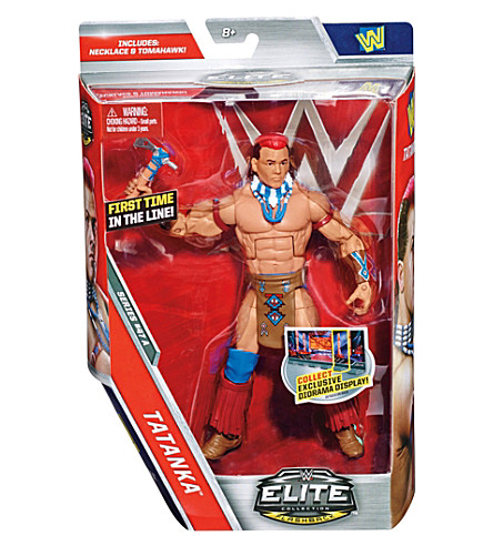 WWE Elite 47 Tatanka action figure