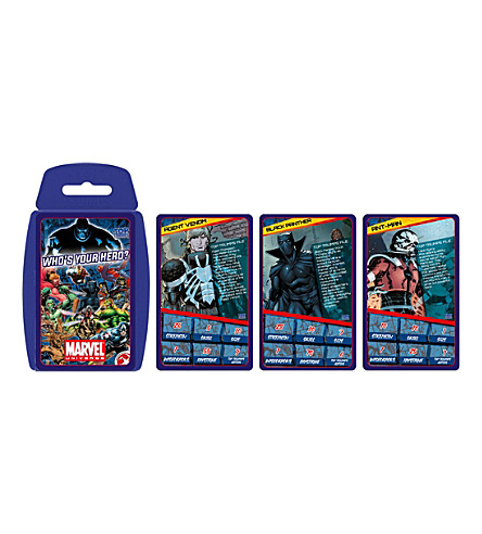 POCKET MONEY Top Trumps Marvel Universe card game