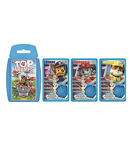 POCKET MONEY Top Trumps Paw Patrol card game
