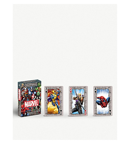 POCKET MONEY Marvel Universe playing cards