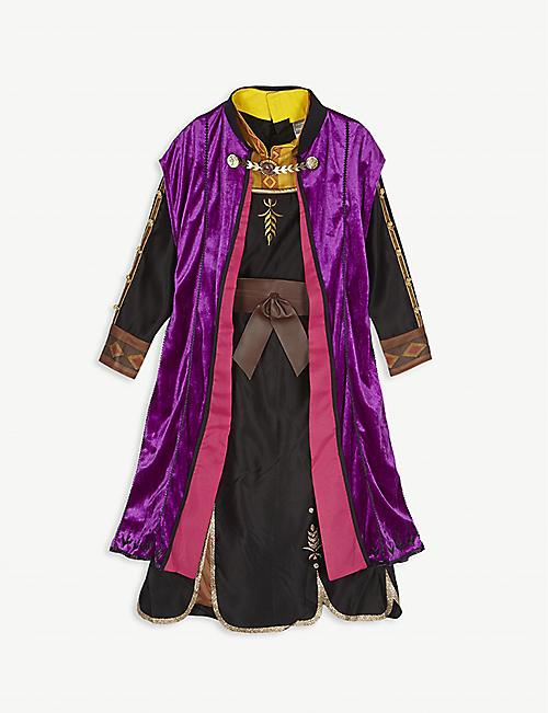 FROZEN II 迪士尼安娜编织连衣裙和披风装扮 7-8 年