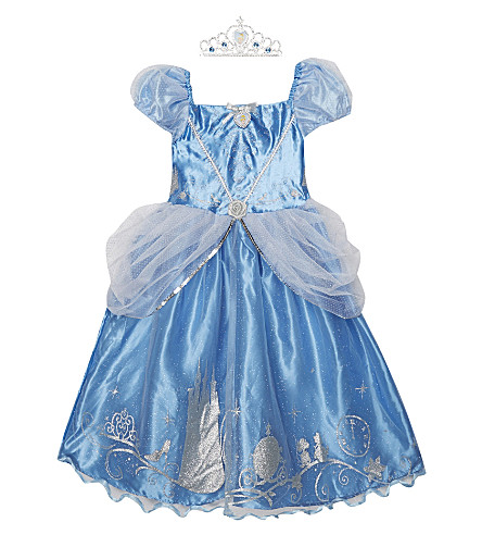 DISNEY PRINCESS Storyteller Cinderella costume 3-8 years (Blue