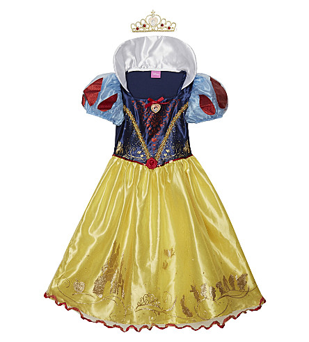 DISNEY PRINCESS Storyteller Snow White costume 3-8 years (Yellow
