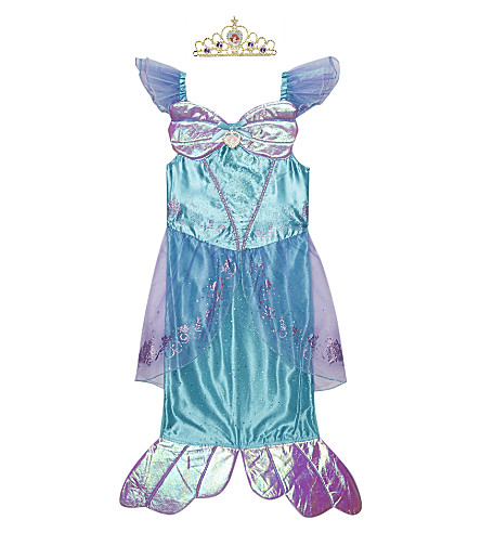 DISNEY PRINCESS Storyteller Ariel dress 3-8 years (Blue