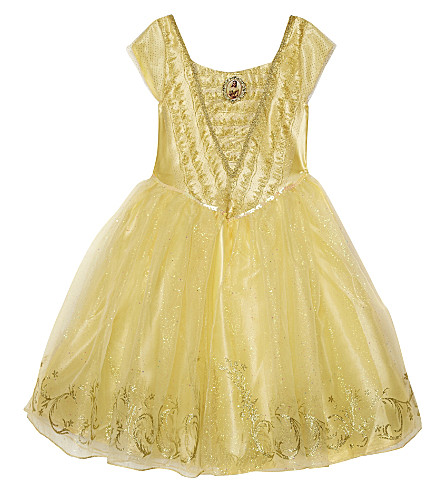 DISNEY PRINCESS Deluxe Belle dress 3-8 years (Yellow