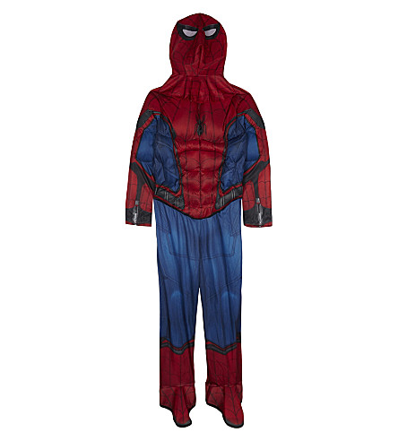 SPIDERMAN Spider-man deluxe costume 4-10 years (Red