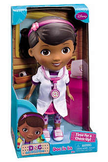 DOC MCSTUFFINS Doc is In character doll