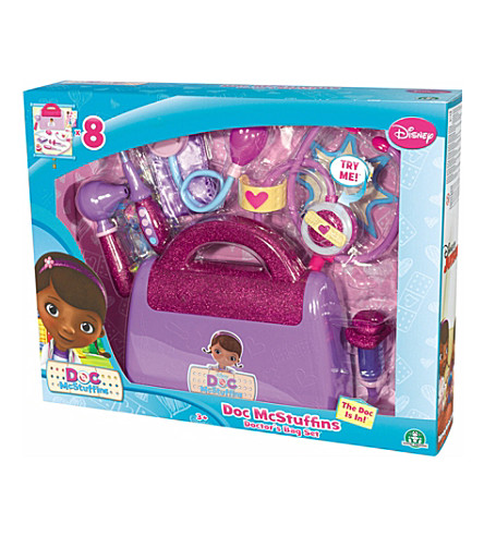 DOCTOR MCSTUFFIN Doctor's Bag set