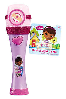 DOCTOR MCSTUFFIN Musical light up microphone