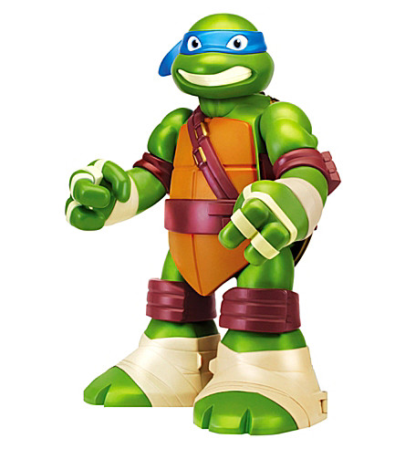 NINJA TURTLES Mutations giant Leonardo playset
