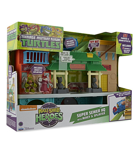 NINJA TURTLES Super Sewer HQ