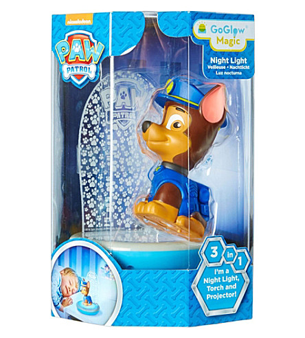 PAW PATROL Chase Magic Night Light