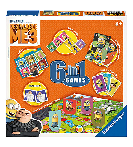 DESPICABLE ME Despicable me 3, 6 in 1 game set