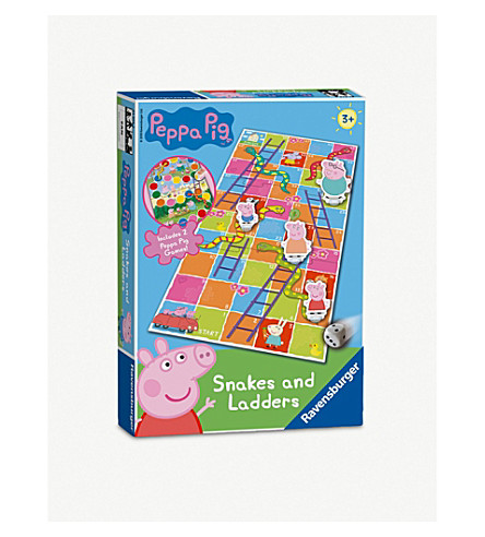 PEPPA PIG Snakes & Ladders board game