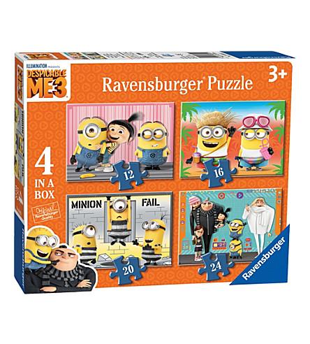 DESPICABLE ME Despicable me 3, 4 in 1 puzzle set