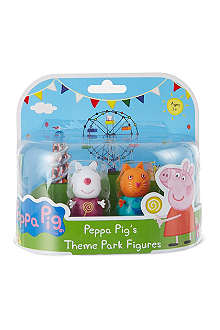 PEPPA PIG Theme park figures twin pack