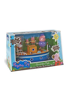 PEPPA PIG Peppa Pig's muddy puddles bathtime boat