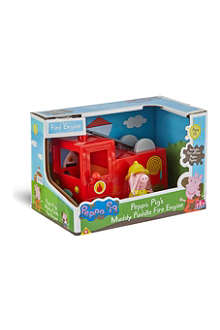 PEPPA PIG Peppa Pig's Muddy puddle fire engine