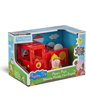 PEPPA PIG Peppa Pig's Muddy puddle fire engine