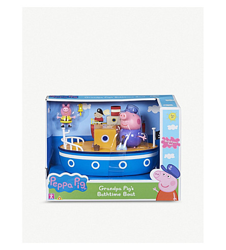 PEPPA PIG Grandpa's boat bath toy