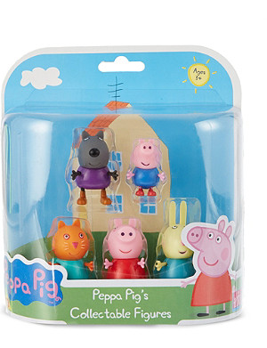 PEPPA PIG Peppa Pig collectible figures five pack