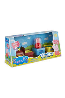 PEPPA PIG Peppa weebles pullalong wobbly train