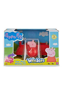 PEPPA PIG Peppa Pig Weebles push-along wobbily car