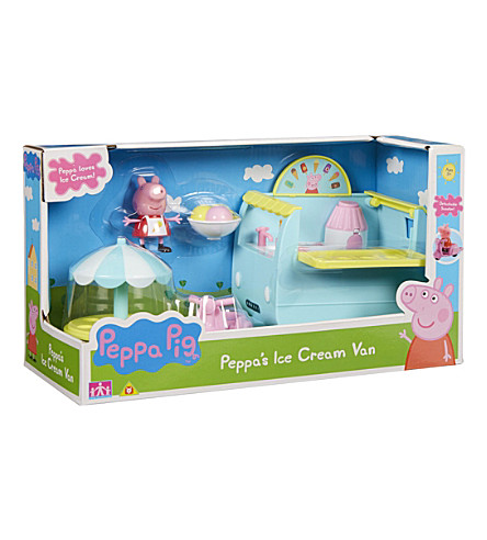 PEPPA PIG Peppa's ice-cream van
