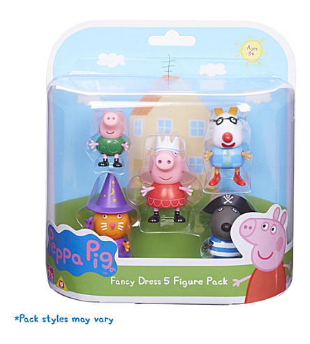 PEPPA PIG Dress up 5 figures