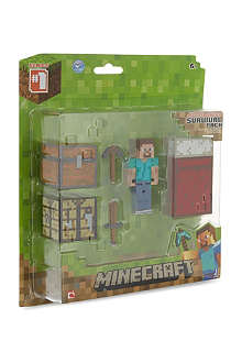 MINECRAFT Steve core player survival pack