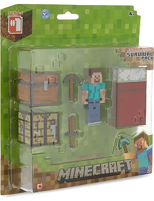 MINECRAFT Steve core player survival pack