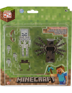 MINECRAFT Spider jockey survival pack