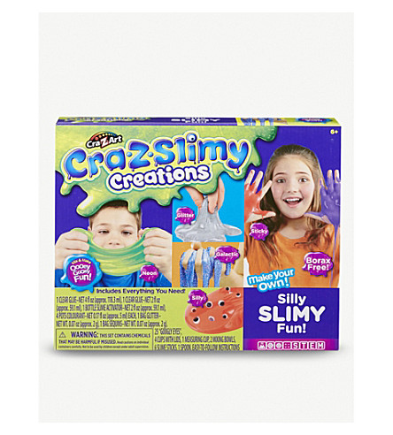 POCKET MONEY Cra-Z-Slimy Silly Slimy Fun kit