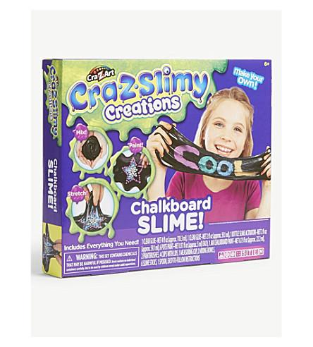 POCKET MONEY Cra-Z-Slimy Creations Chalkboard Slime