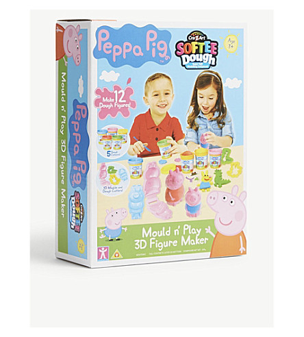 PEPPA PIG Mould 'n Play 3D Figure Maker