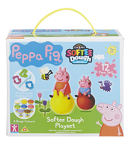 PEPPA PIG Softee dough playset