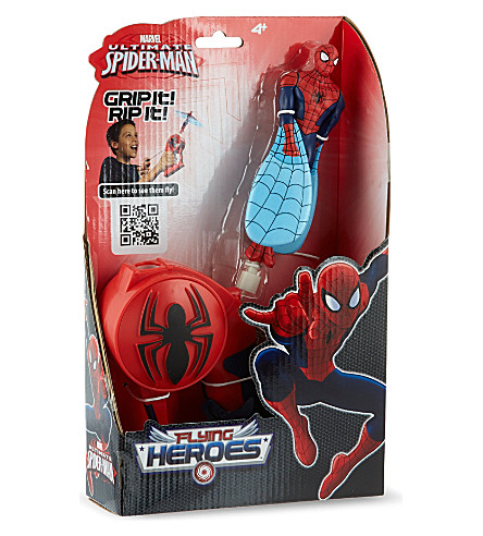 SPIDERMAN Spiderman flying heroes (Clear