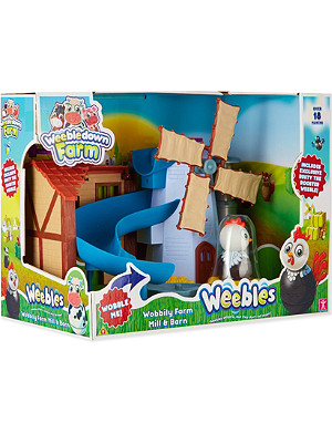PEPPA PIG Weebledown Farm playset