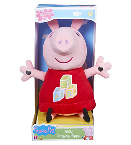 PEPPA PIG Peppa Pig ABC singing Peppa