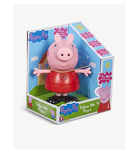 PEPPA PIG 跟我来粉红玩具19厘米