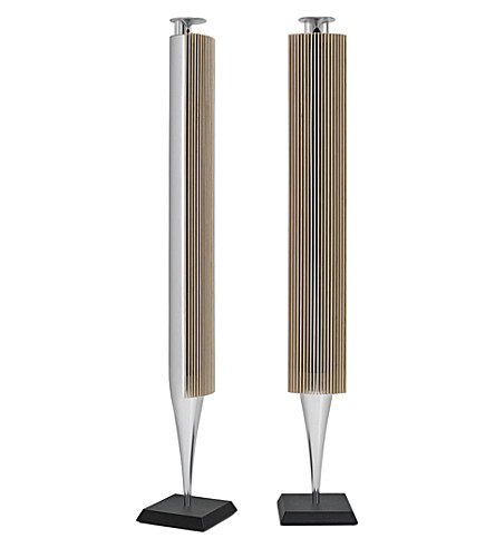 BANG & OLUFSEN Beolab 18 wireless loudspeakers (Silver and oak