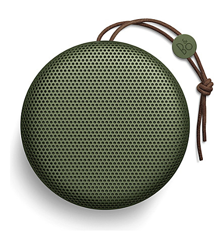 B&O PLAY BY BANG & OLUFSEN BeoPlay A1 bluetooth speaker (Green