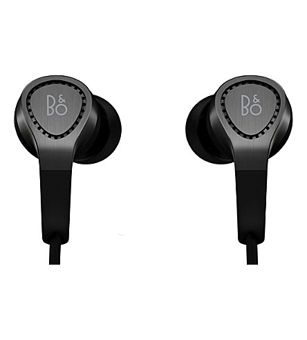 B&O PLAY BY BANG & OLUFSEN Beoplay H3 2nd generation in-ear headphones (Black+aluminium