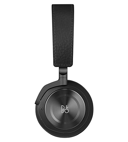 B&O PLAY BY BANG & OLUFSEN Beoplay H8 leather on-ear wireless headphones (Black