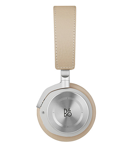 B&O PLAY BY BANG & OLUFSEN Beoplay H8 leather on-ear wireless headphones (Natural